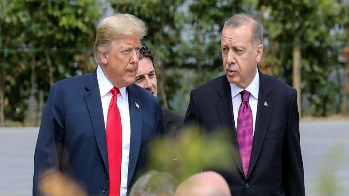 Erdoğan'dan Trump'a yanıt! Baskıyı azaltmak için...