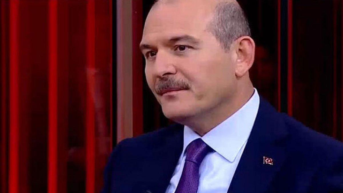 İçişleri Bakanı Soylu'dan flaş açıklamalar