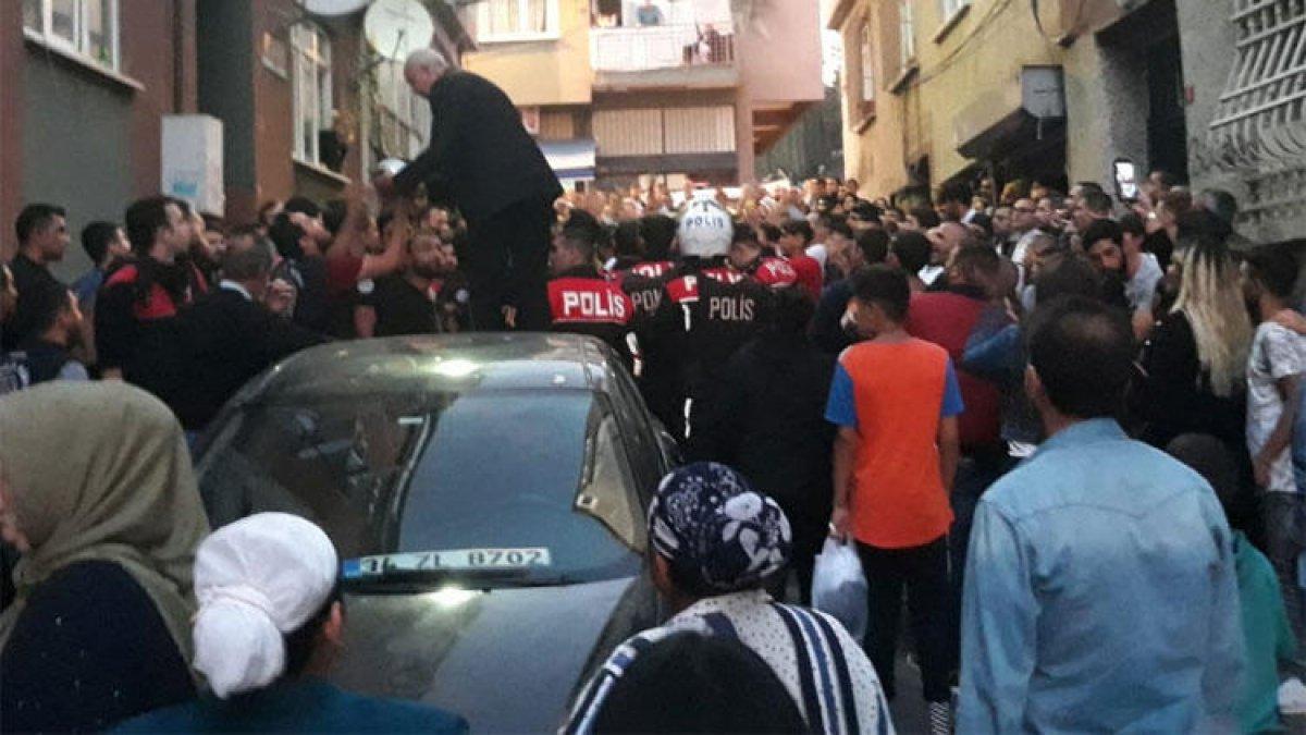 """Taciz"" iddiası bir mahalleyi sokağa döktü!"