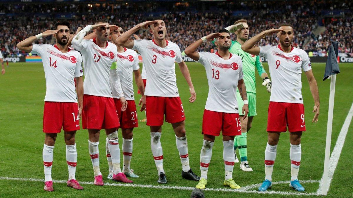 UEFA'dan A Milli Takım'a 'asker selamı' soruşturması