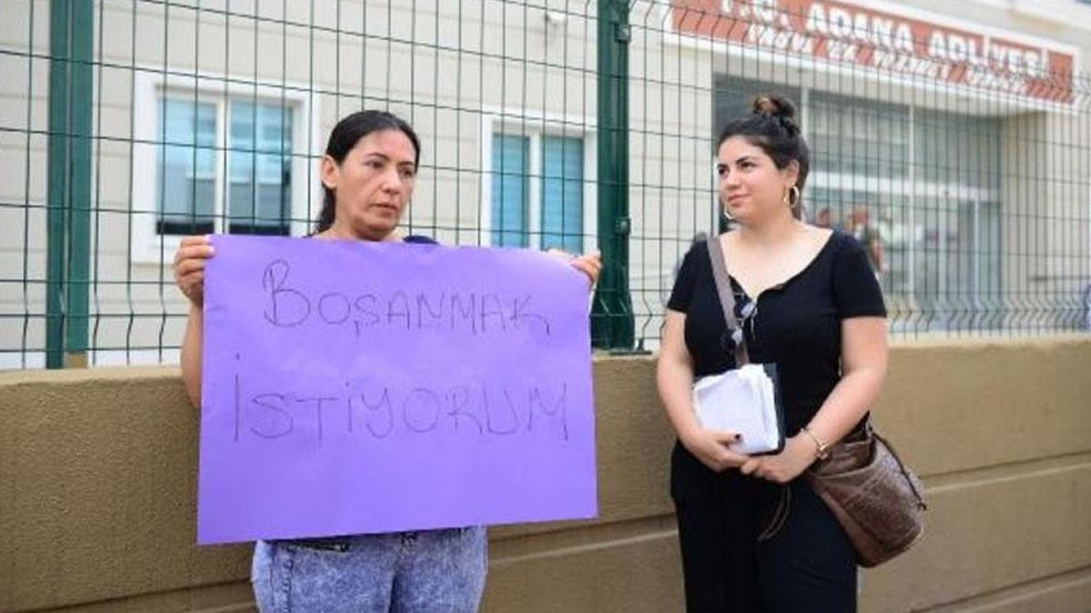 Şiddet gördüğü için boşanmak isteyen kadın, eşine çantayla vurduğu için tutuklandı