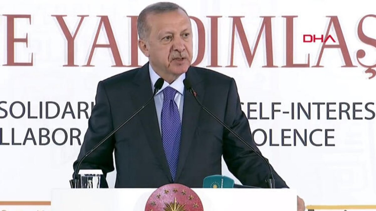 Erdoğan'dan kritik açıklama! Bizi silah ambargosuyla...