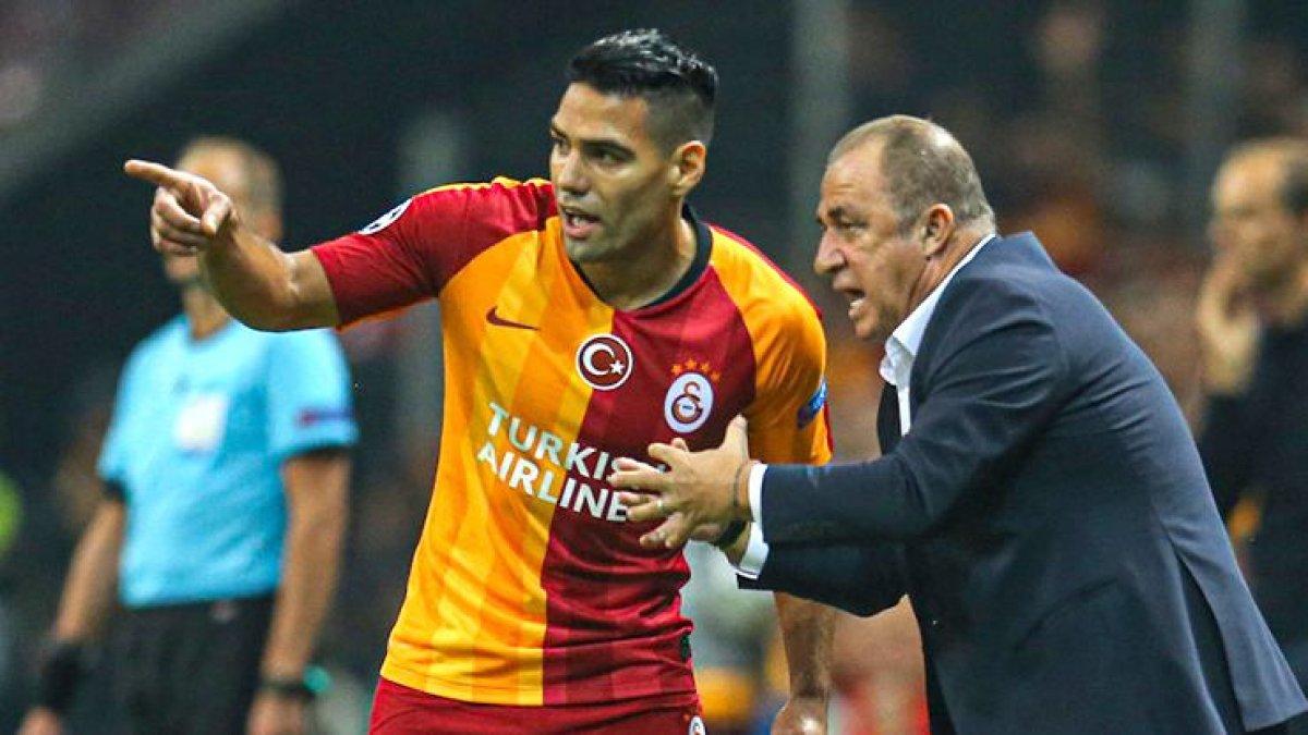 Galatasaray'da Falcao krizi: Terim, formayı vermeyecek