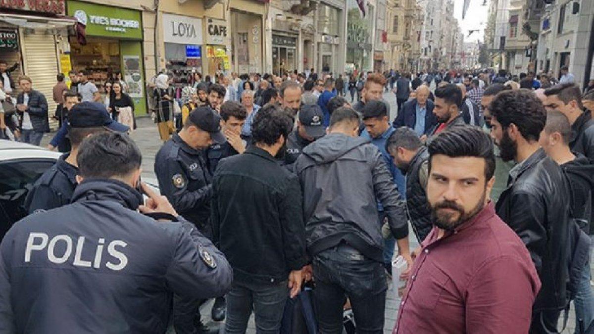 "İstiklal Caddesi'nde ""bomba"" paniği!"