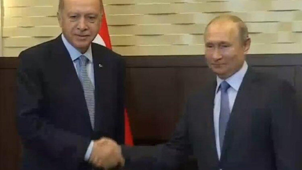 Kritik zirve öncesi Erdoğan ve Putin'den ilk mesaj!