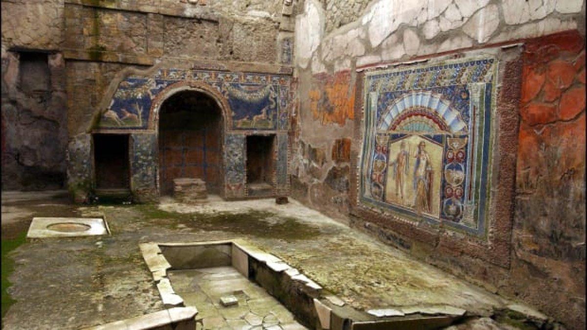 Köln'de bulunan Antik Roma kütüphanesi açılacak