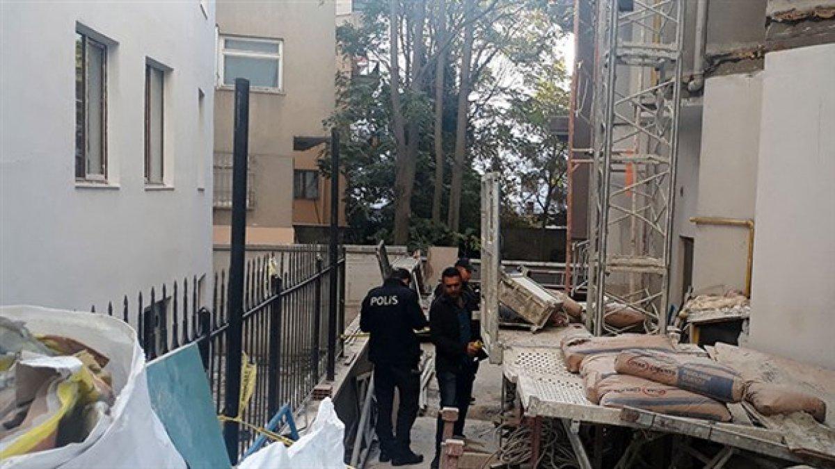 Ankara'da inşaatta yük asansörü düştü: 3 işçi yaralı