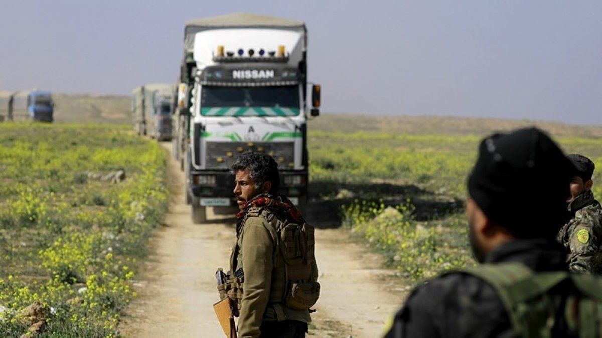 YPG'den 'Türkiye sınırından çekilme' açıklaması