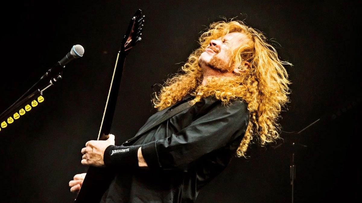 Thrash metalin efsane ismi Dave Mustaine kanseri yendi