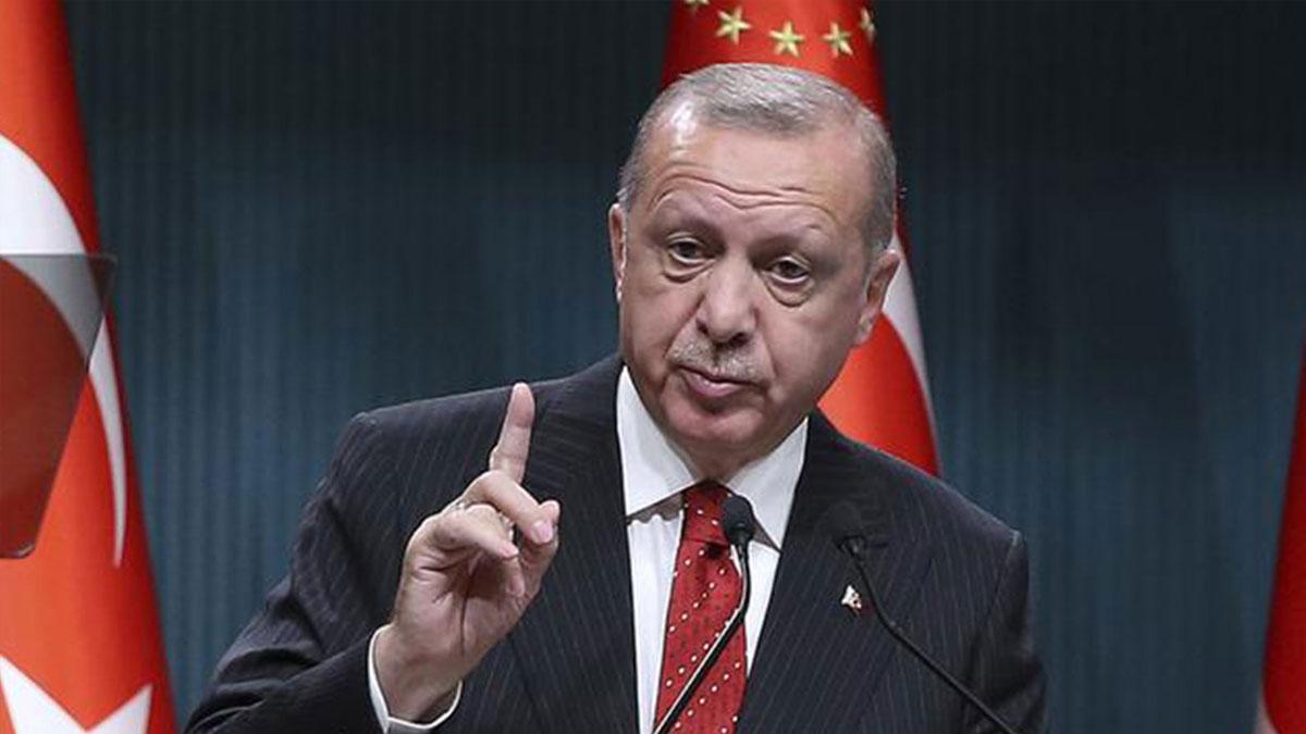 Erdoğan Cumhuriyet Bayramı resepsiyonunda konuşuyor