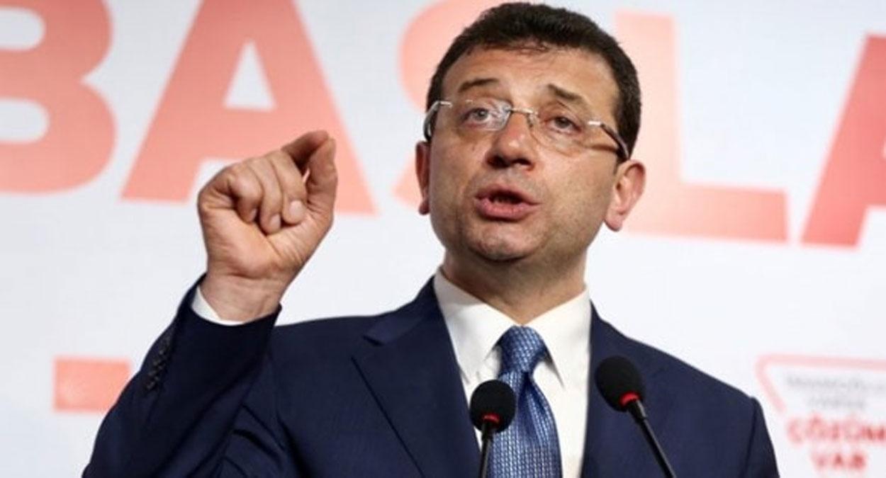 İmamoğlu'ndan İstanbul Boğazı'nın Saray'a bağlanmasına tepki