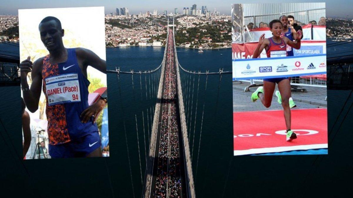 İstanbul Maratonu'nda parkur rekoru geldi