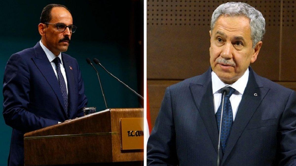 """""""KHK bir faciadır"""" demişti! Saray'dan Bülent Arınç'a cevap!"""