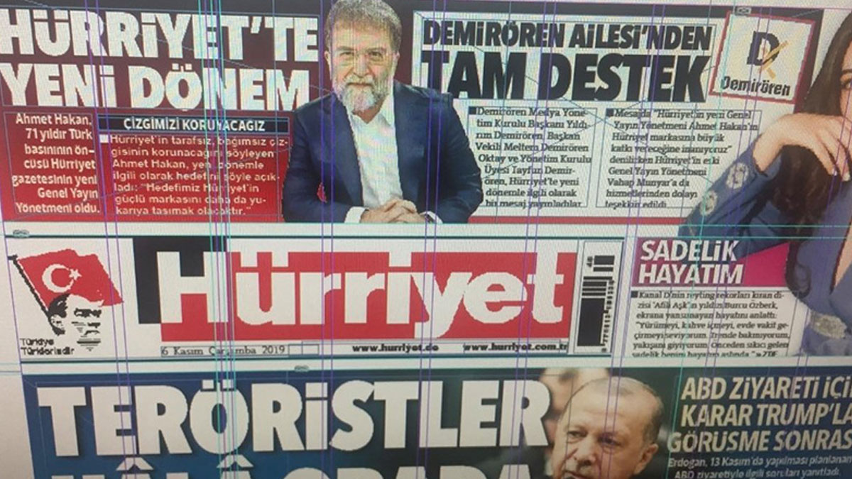 Hürriyet sürmanşetten Ahmet Hakan'ı duyurdu: Yeni dönem