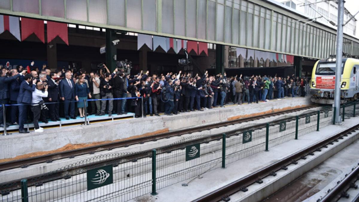 Çin'in yük treni Marmaray'dan geçecek