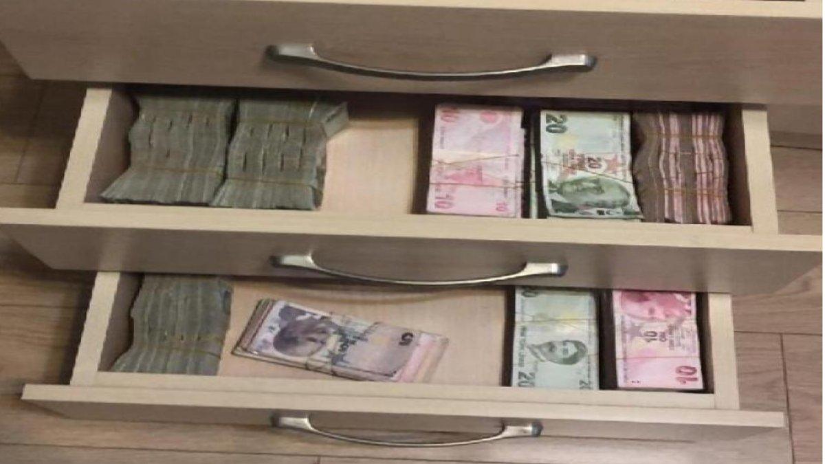 Her yerden para çıktı! İstanbul'da bahis operasyonu...