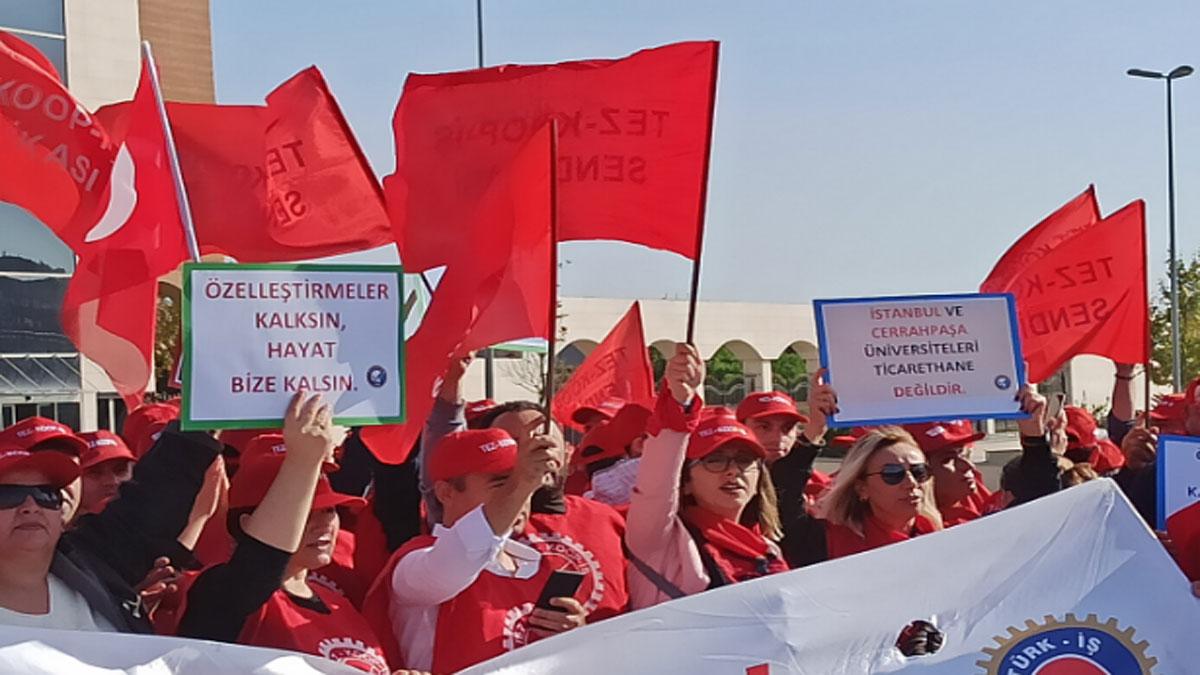 İ.Ü. Cerrahpaşa'da işçiler, işten çıkarılmakla karşı karşıya