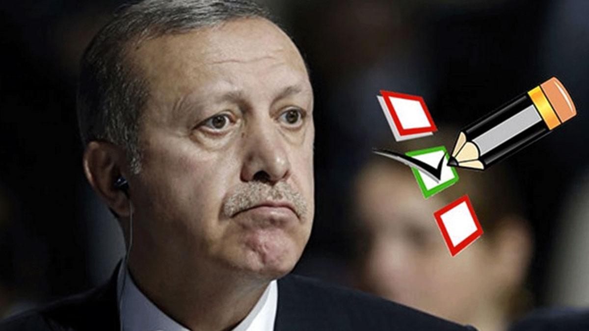 Son anket yayınlandı: Erdoğan'ı beğenmeyenlerin sayısı belli oldu