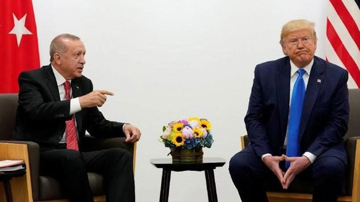 Erdoğan, Trump ile Halkbank'ı görüşecek
