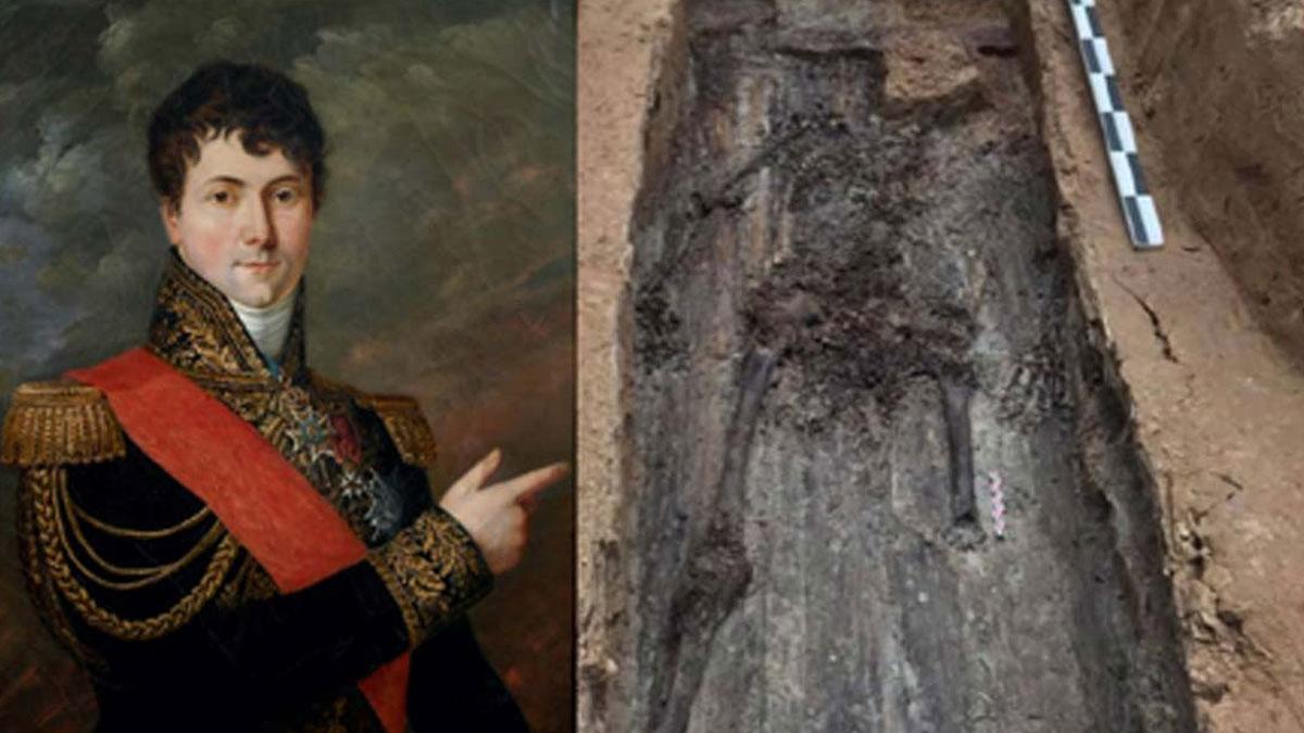 Rusya'da dans pistinde bulunan kalıntılar Bonapart'ın generaline ait çıktı