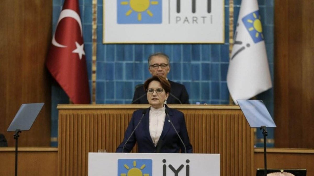 İYİ Parti Genel Başkanı Meral Akşener grup toplantısında konuştu : Biz bu ülkenin iyi ve cesur insanlarıyız