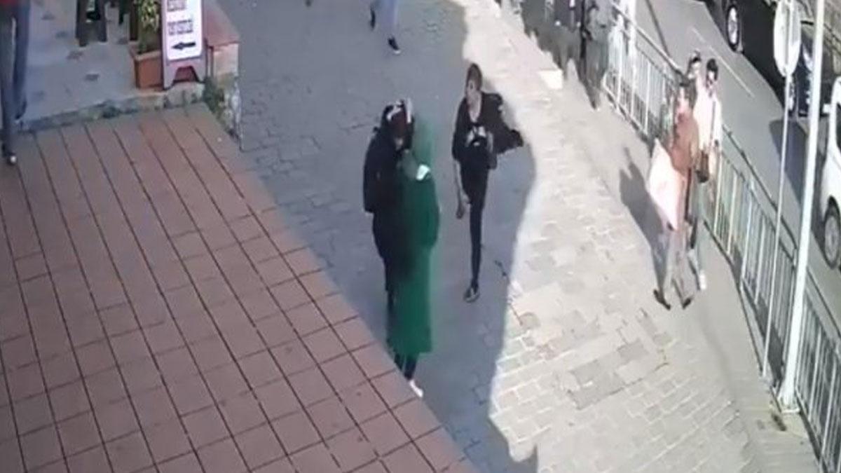 Karaköy'de öğrencilere saldıran kişi gözaltına alındı