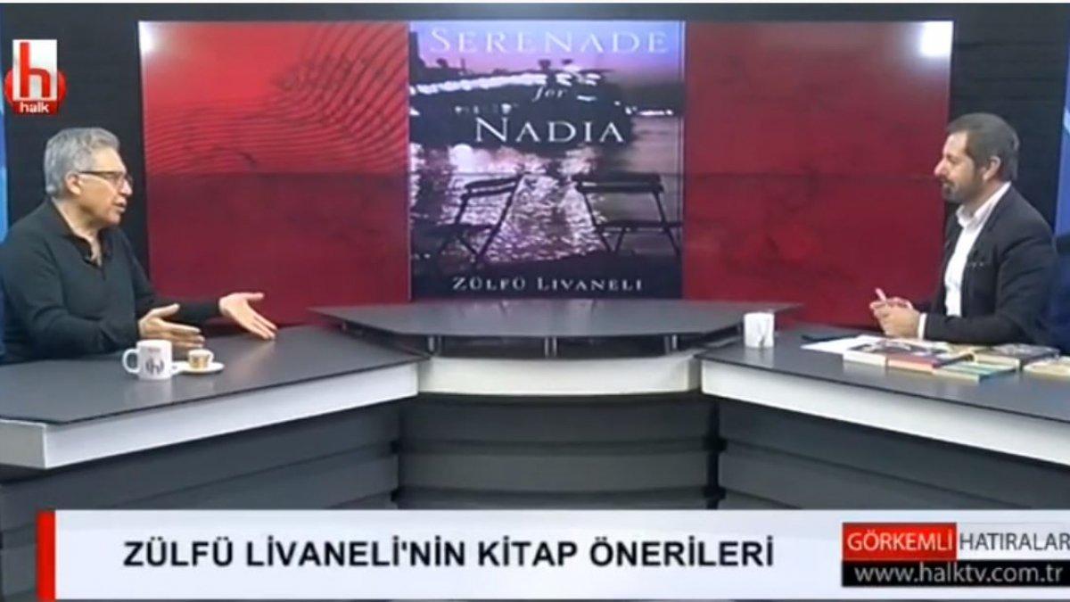 Serhan Asker ile Görkemli Hatıralar'a konuk olan Zülfü Livaneli kitap önerisinde bulundu