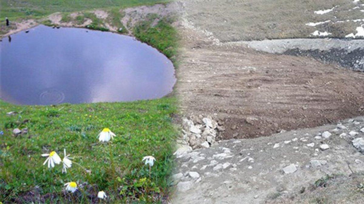 Dipsiz Göl'de yeni gelişme!