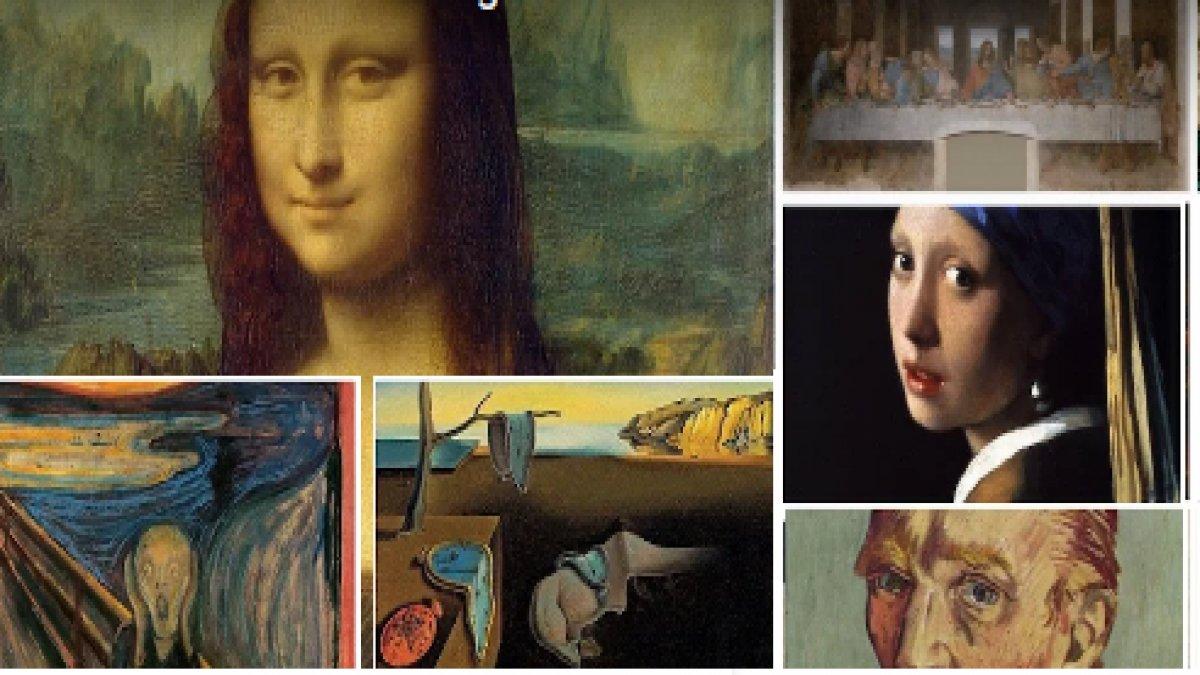 Dünyanın en ünlü 10 tablosu