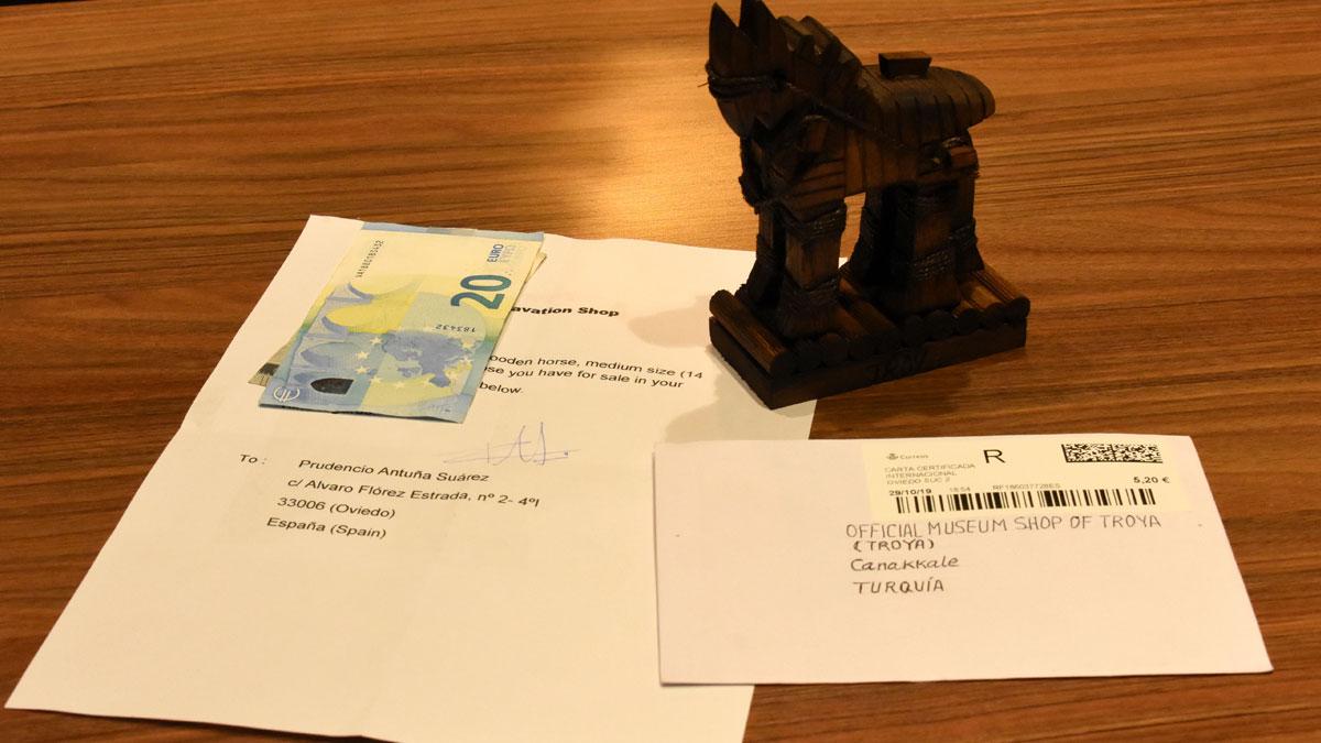 Troya atı için İspanya'dan 25 euro gönderdi: 15 fidan dikilecek