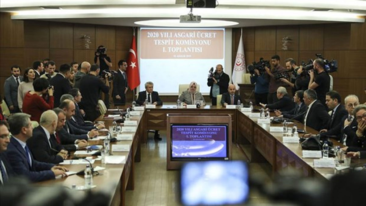 Asgari Ücret Tespit Komisyonu ilk toplantısını gerçekleştirdi