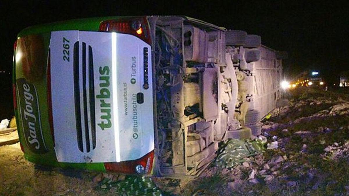 Şili'de katliam gibi kaza: 17 ölü, 24 yaralı