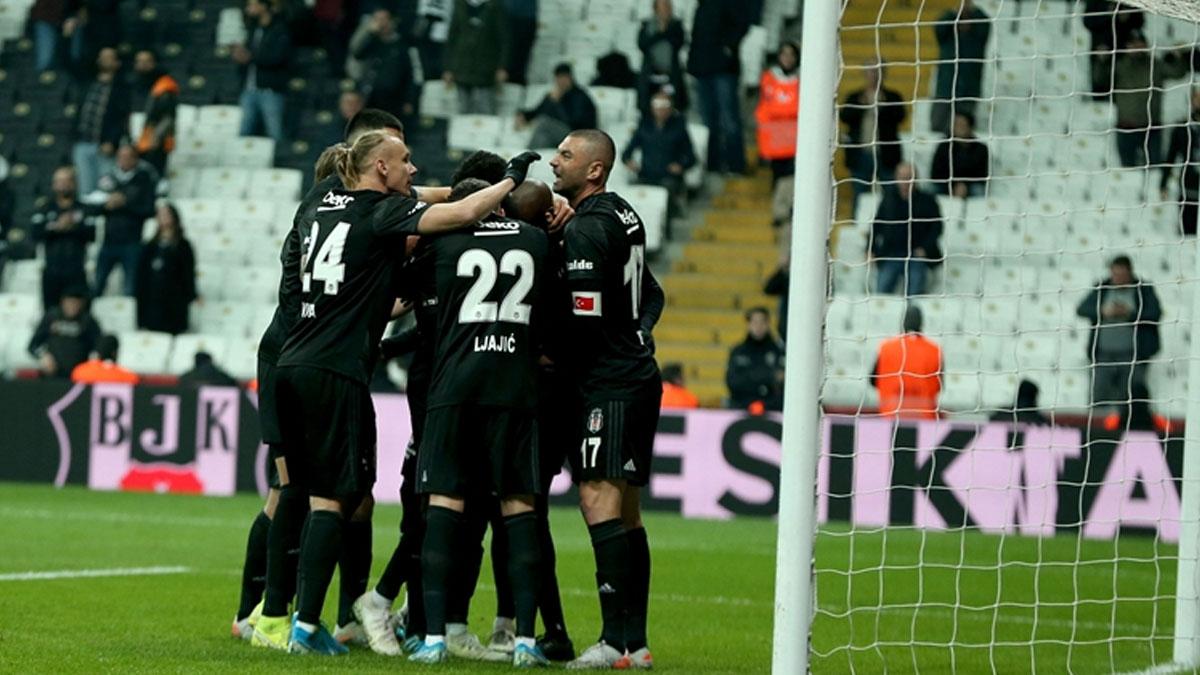 Kartal yüksekten uçtu: Beşiktaş galibiyet serisini beş maça çıkardı