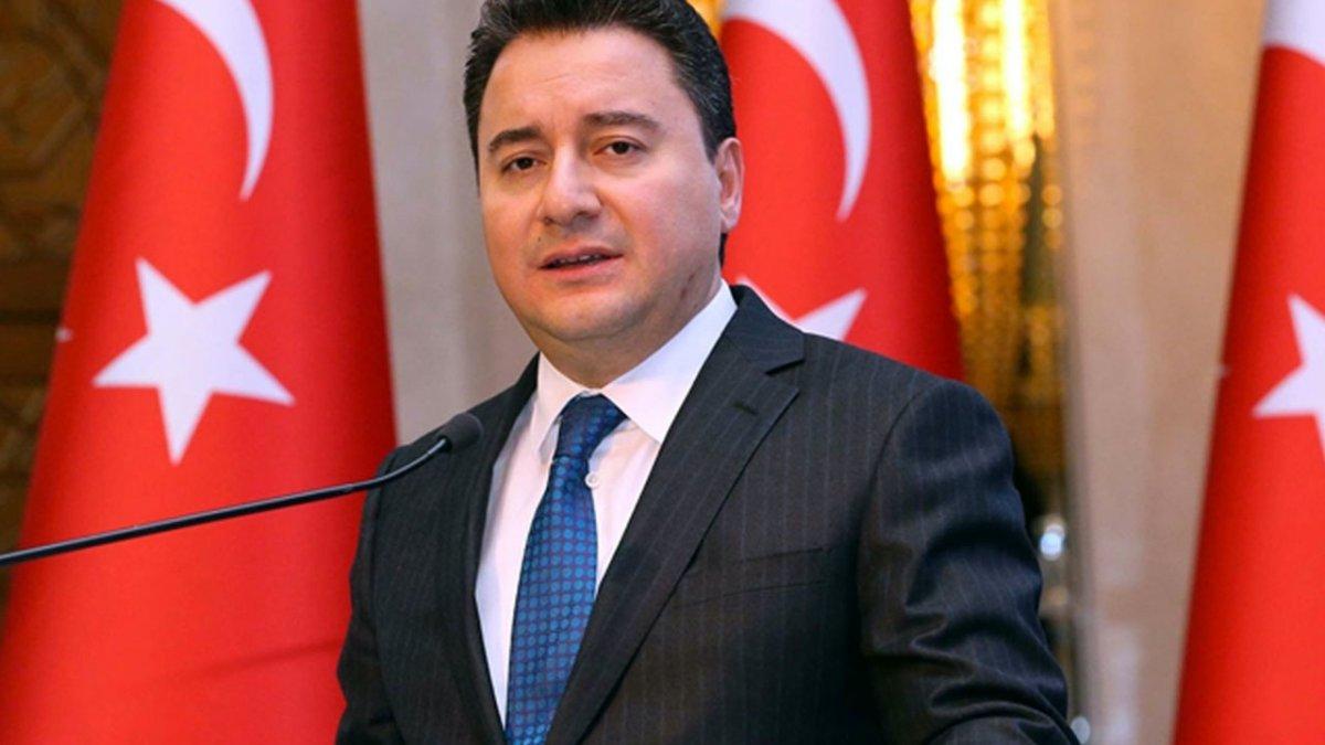 Ali Babacan partinin kuruluşunu erteledi