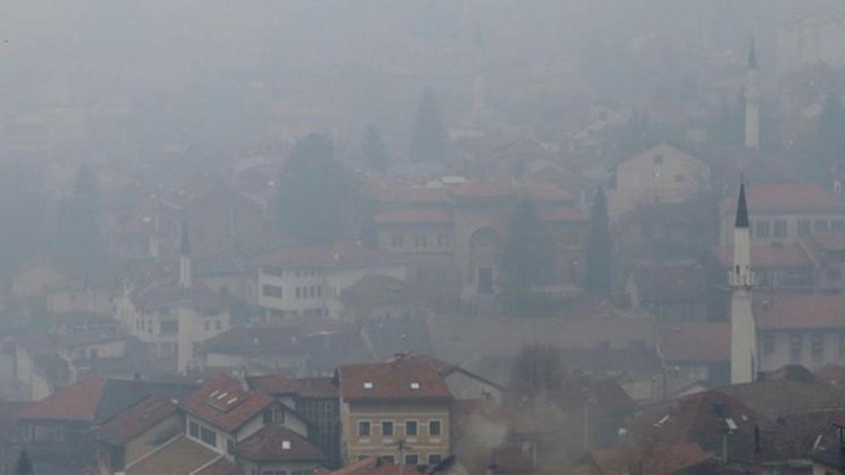Saraybosna'da hava kirliliği tehlikeli seviyeye ulaştı