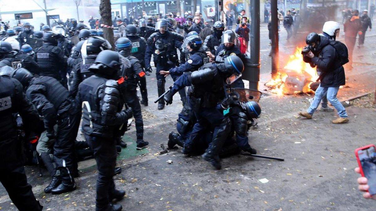 Fransa'da polisin 'orantısız şiddetine' soruşturma