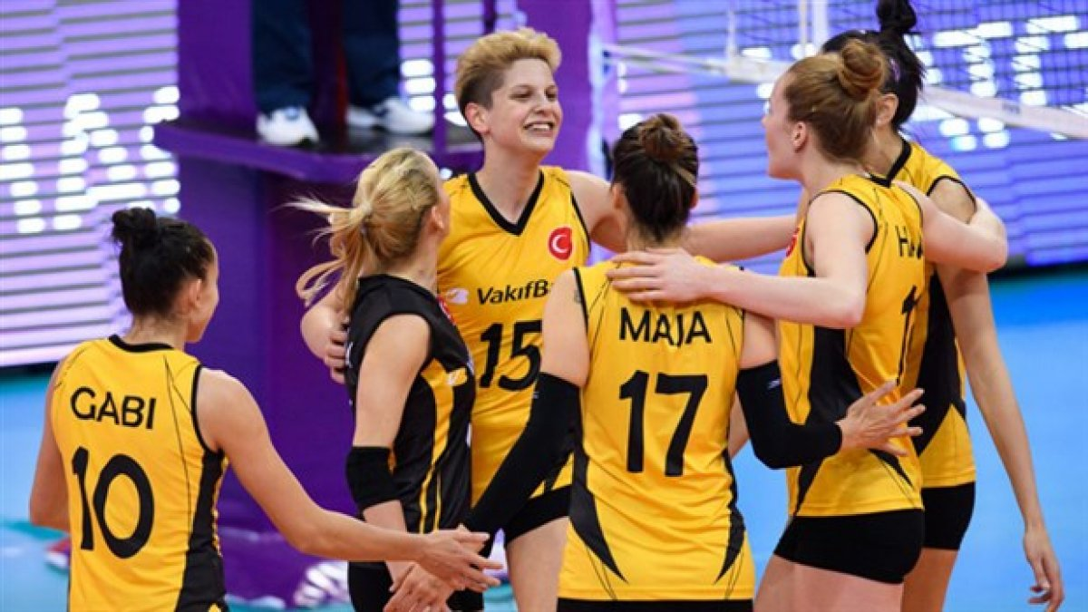 Kadınlar Dünya Kulüpler Şampiyonası'nda bronz madalya VakıfBank'ın