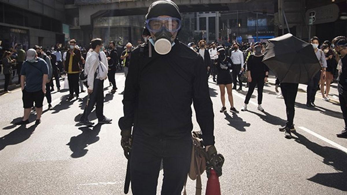 Hong Kong'da protestolar 7. ayında