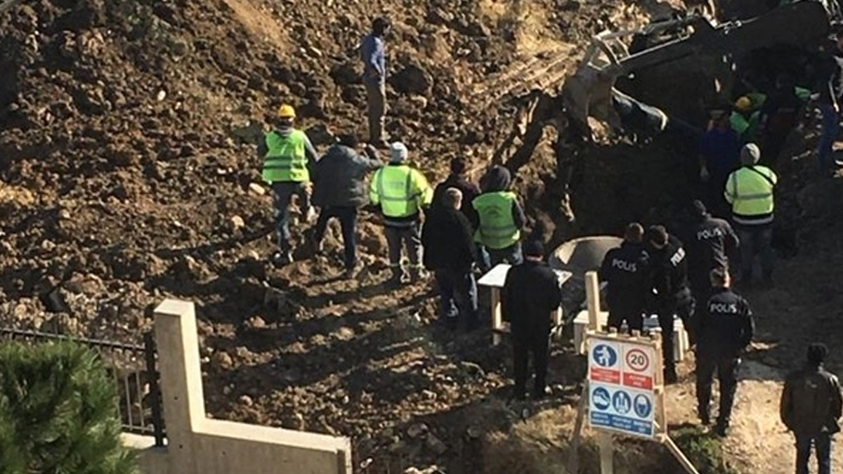 Lüleburgaz'da hastane inşaatında göçük: 2 işçi altında kaldı