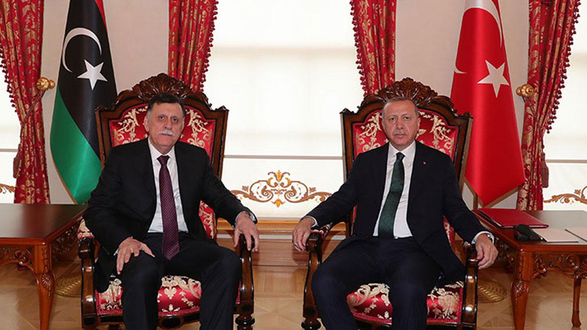 Libya Başbakanı Sarraj İstanbul'a geldi