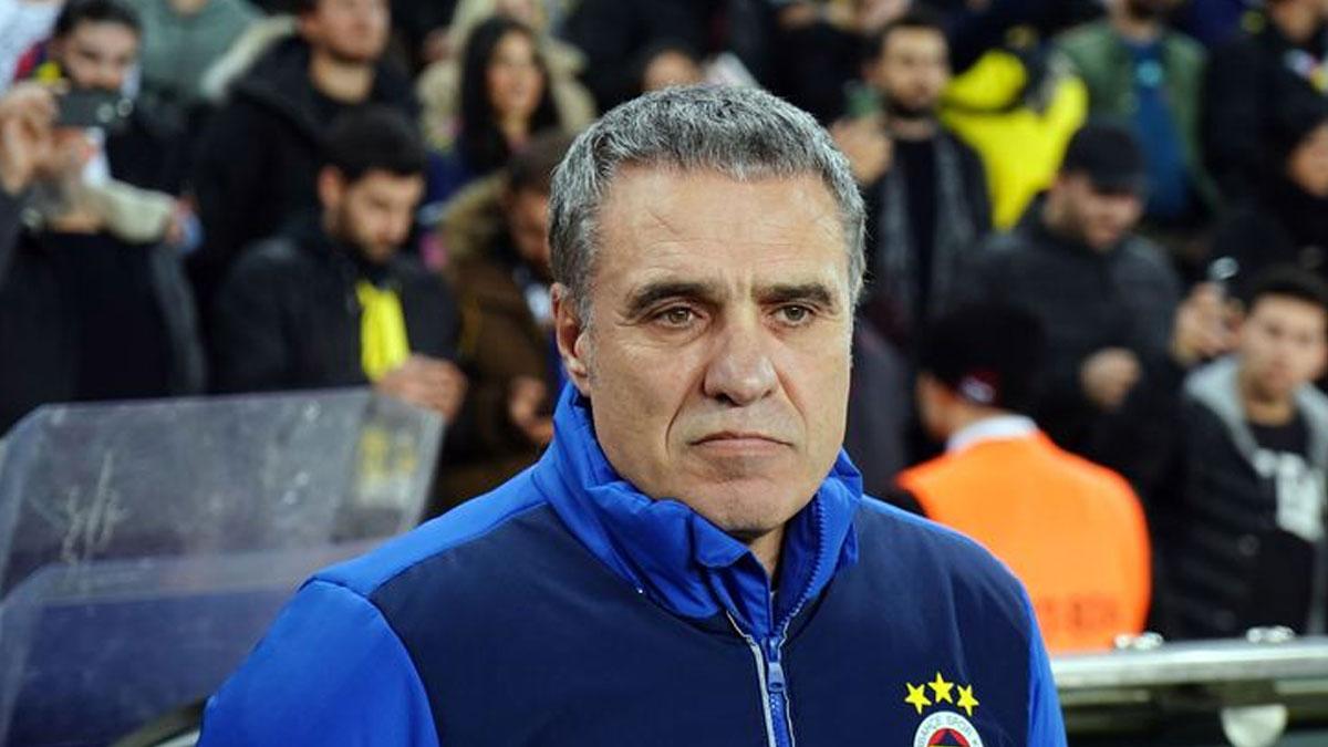 Fenerbahçe Teknik Direktörü Ersun Yanal, görevinden ayrıldı