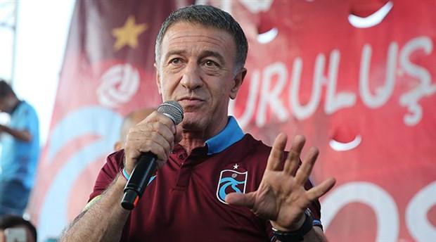 Trabzonspor Başkanı Ağaoğlu: 14.61'de açıklama yapacağız