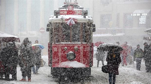 İstanbul kışa teslim oluyor