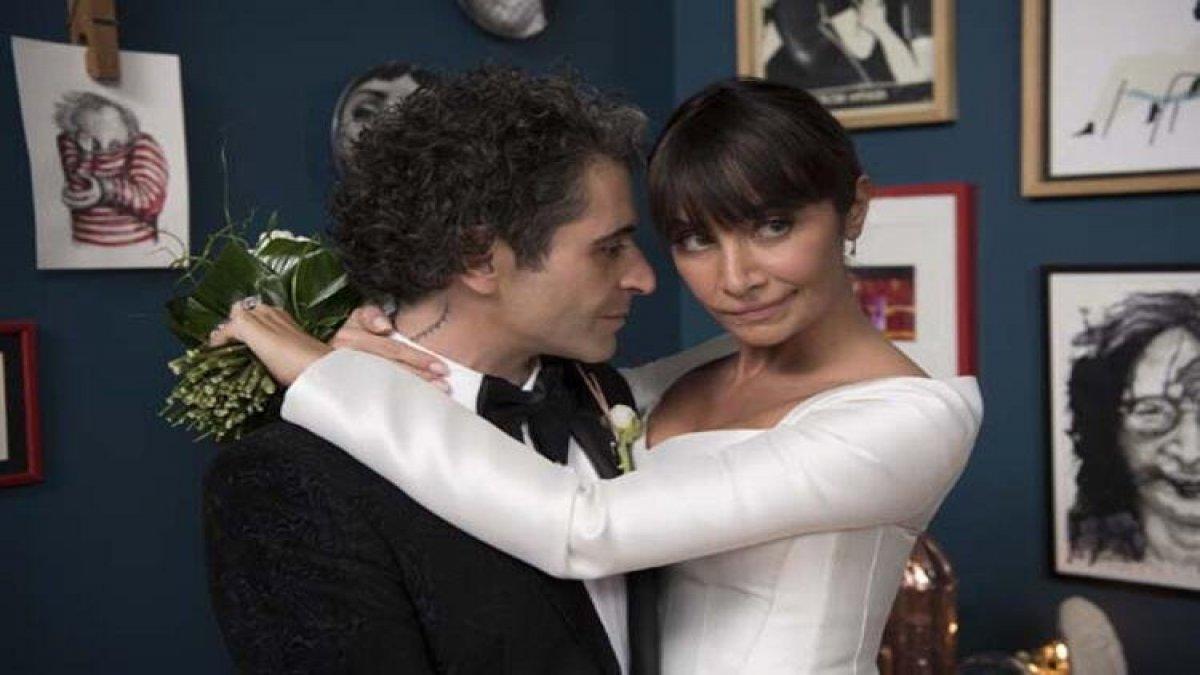 Sıla ve Hazer Amani dün evlendi! İşte ilk fotoğraflar