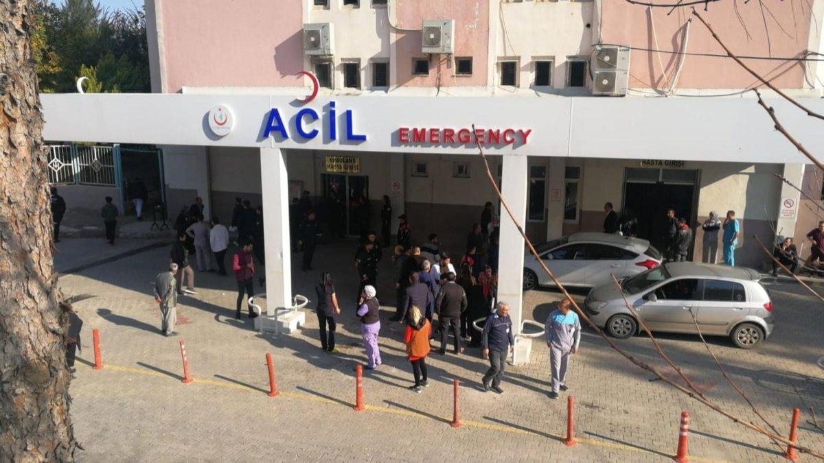 Tarsus'ta devlet hastanesinde patlama: Yaralılar var