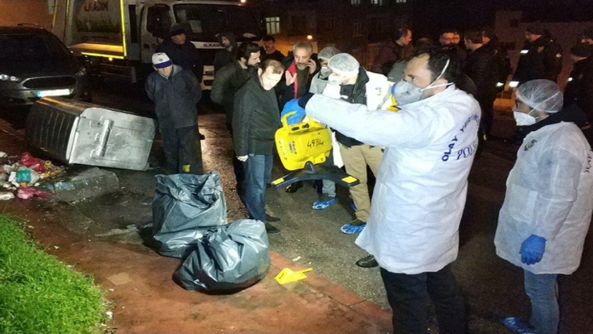 Çöp kamyonunda bulunan parçalanmış cesetle ilgili 7 kişi gözaltına alındı