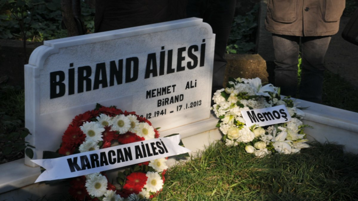 Mehmet Ali Birand vefatının 7. yılında anıldı