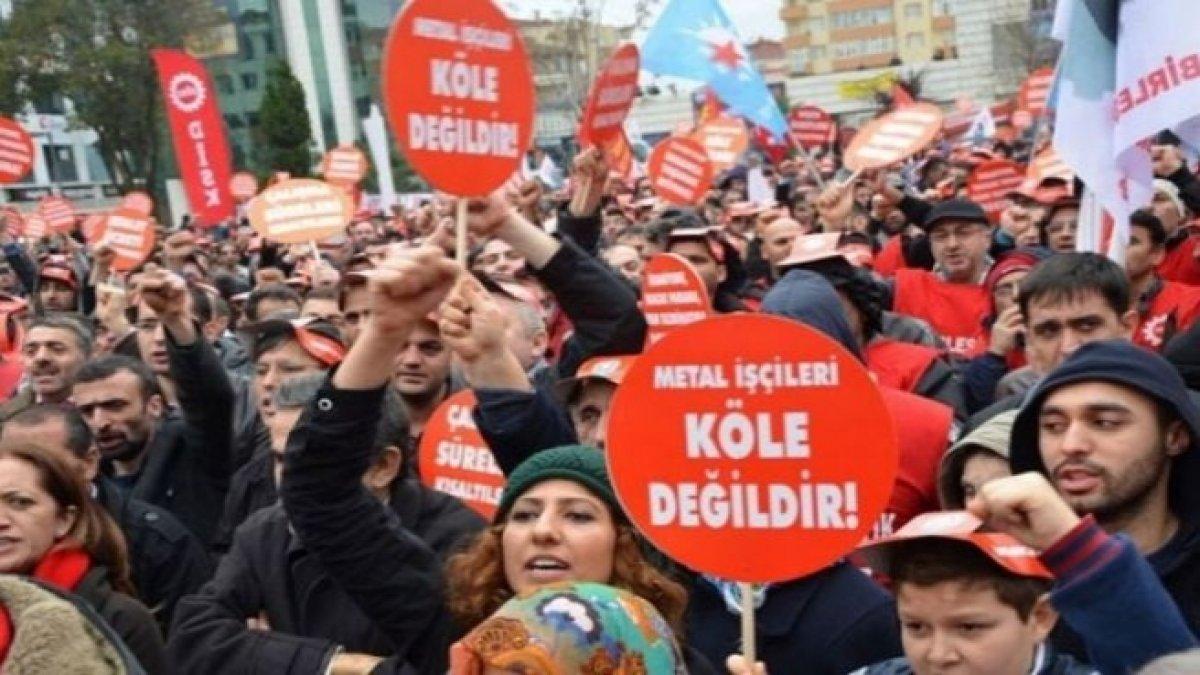 Metal işçisi greve çıkıyor