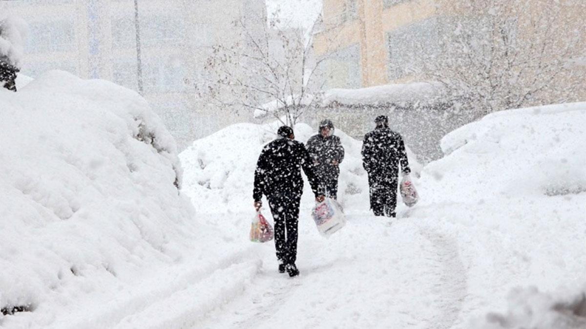 Doğu Karadeniz'de yoğun kar nedeniyle 5 ilde 417 yerleşim birimine ulaşılamıyor