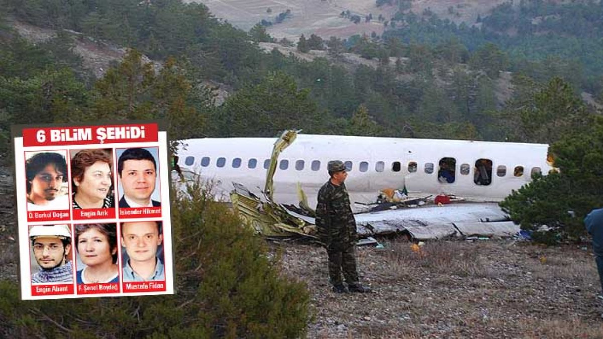 Isparta'da 6 bilim insanının öldüğü uçak kazasıyla ilgili 13 yıl sonra gelen iddia